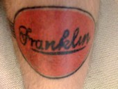 Franklin tattoo
